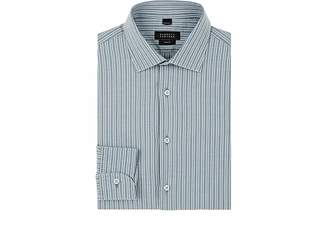 Barneys New York Men's Double-Striped Woven Cotton Shirt
