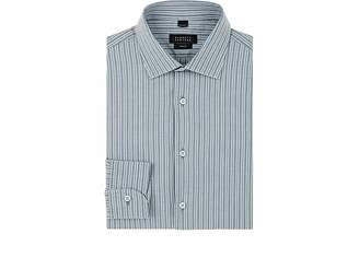 Barneys New York Men's Double-Striped Woven Cotton Shirt