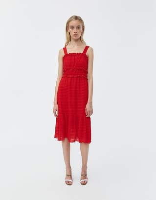 Farrow Carrie Ruffle Dress