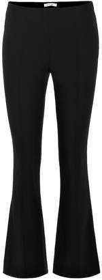 The Row Beca wool-blend flared pants