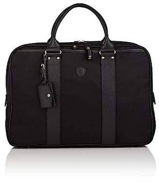 Felisi Men's Leather-Trimmed Briefcase - Black