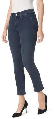 NYDJ Petites Sheri Embroidered Slim Ankle Jeans in Varick