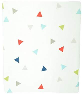 Kids Line Roadmap Fitted Sheet, Triangles