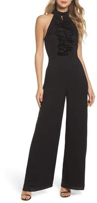 C/Meo Collective Big Picture Halter Jumpsuit