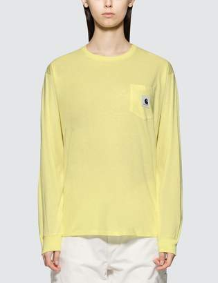 287e607058d Carhartt Work In Progress Pocket Long Sleeve T-shirt
