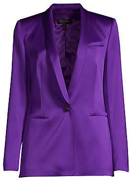 Escada Women's Begasa Satin Tuxedo Jacket
