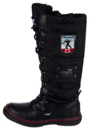 Pajar Leather Nylon Boots
