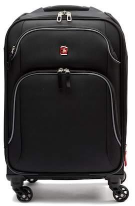 "Swiss Gear SwissGear 20\"" Spinner Black Grey Luggage"