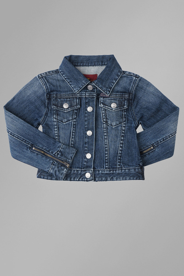 Nolita Girls 4-6x Mars Denim Jacket In