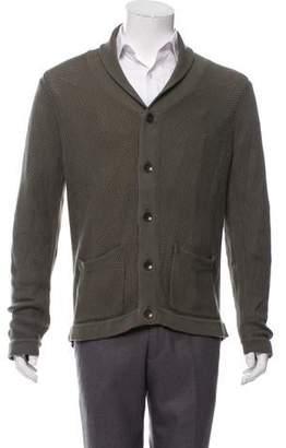 Rag & Bone Shawl Collar Button-Up Cardigan