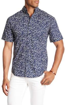 LOFT 604 Short Sleeve House Pattern Regular Fit Woven Shirt