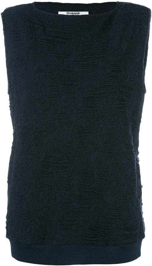 ChalayanChalayan sleeveless tunic