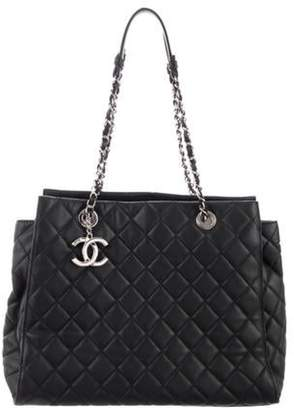 Chanel Large Chic And Soft Tote Black Large Chic And Soft Tote