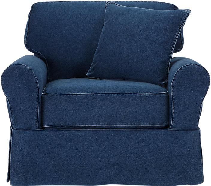 Cindy Crawford Cindy Crawford Home Beachside Blue Chair