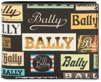 Bally Printed Coated Leather Classic Wallet