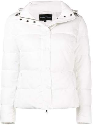 Emporio Armani fitted padded jacket