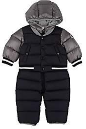 Moncler Infants' Colorblocked Tech-Fabric Snowsuit - Blue