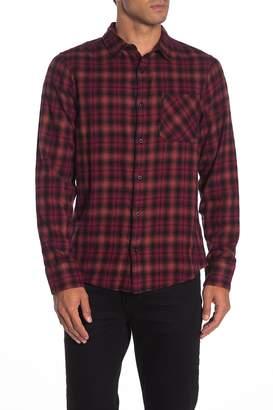 Public Opinion Plaid Flannel Regular Fit Shirt