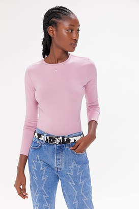 Urban Outfitters Camille Fitted Long Sleeve Tee