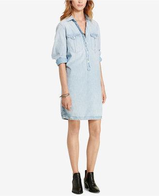 Denim & Supply Ralph Lauren Surplus Shirtdress $125 thestylecure.com