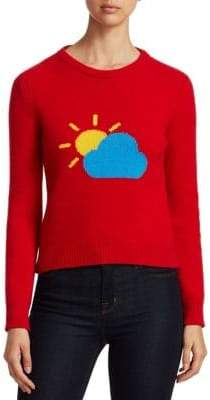 Alberta Ferretti Rainbow Week Capsule Days Of The Week Partly Cloudy Emoji Sweater