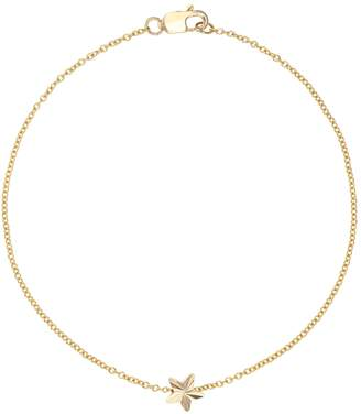 Feather Stone Gold Star Bracelet