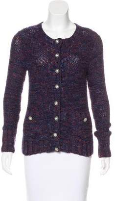 Marc Jacobs Wool Patterned Cardigan