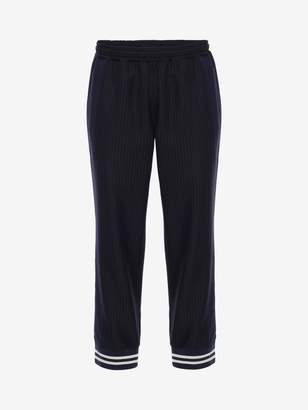 Alexander McQueen Pinstripe Sports Pants