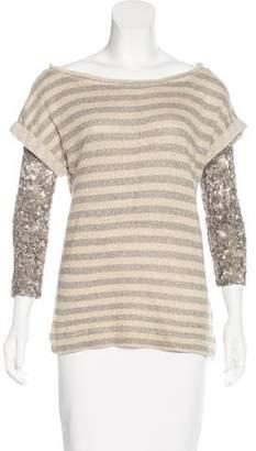 Gryphon Embellished Knit Top