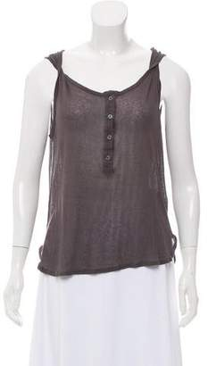 Ann Demeulemeester Sleeveless Scoop Neck Top