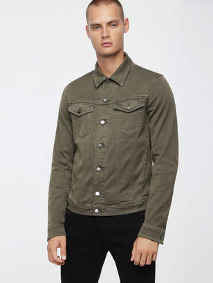 Diesel Denim Jackets 0670M - Green - S
