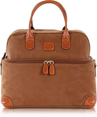 Bric's Life - Camel Micro Suede Beauty Case Bag