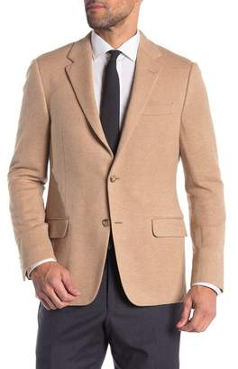 Hickey Freeman Textured Classic Fit Camel Hair Sportcoat