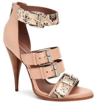 BCBGMAXAZRIA Gloria Tapered Heel Buckle Sandal