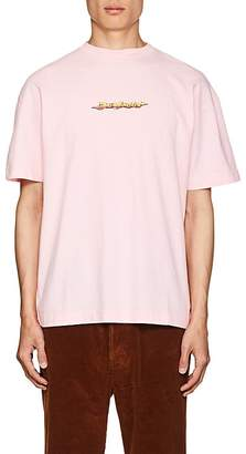Palm Angels Men's Logo-Print Cotton T-Shirt