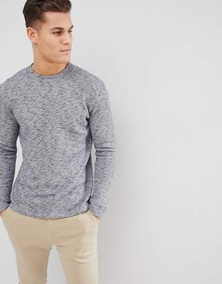 Selected High Neck Sweat