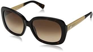 Cole Haan Women's Ch7003 Plastic Rectangular Sunglasses