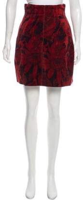 Marc Jacobs Silk-Blend Skirt