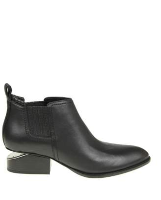 "Alexander Wang kori"" Ankle Boot In Black Leather"