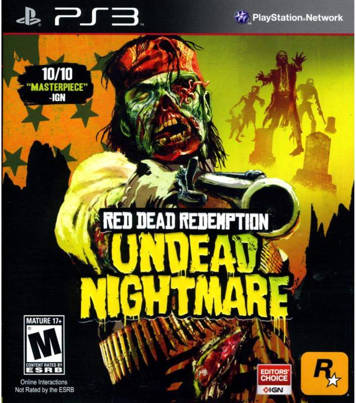 Sony Red Dead Redemption Undead - PS3