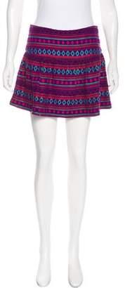 Mes Demoiselles Patterned Mini Skirt