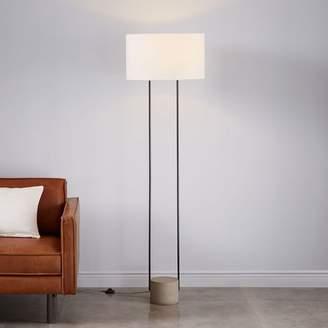 West elm floor lamps shopstyle west elm industrial outline floor lamp aloadofball Gallery