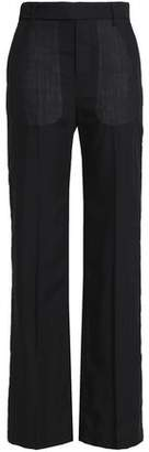 Rick Owens Wool-Twill Straight-Leg Pants