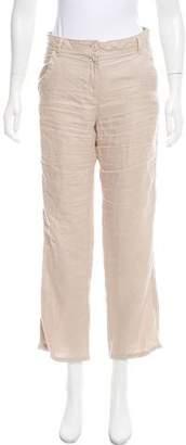 Saint James Mid-Rise Linen Pants