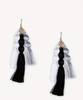 Sole Society Triple Tassel Statement Earring