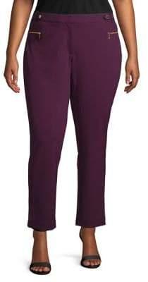 Calvin Klein Plus Plus Crepe Scuba Pants