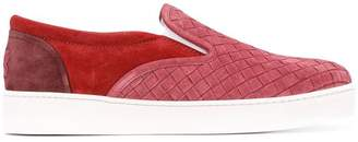 Bottega Veneta woven slip-on sneakers