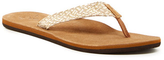 Reef Salty Air Metallic Flip-Flop (Women) $38 thestylecure.com