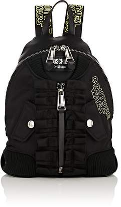 Moschino Women's Leather-Trimmed Backpack