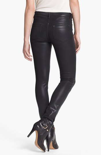 Vince Camuto Two by Coated Skinny Jeans